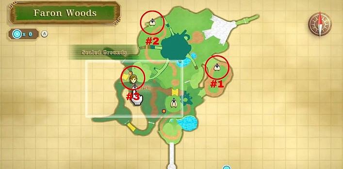 《薩爾達傳說 禦天之劍 HD》失蹤的丘依族人位置