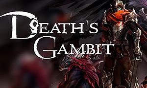 亡靈詭計-Death's Gambit-《亡靈詭計(Death's Gambit)》是一款由White Rabbit製作Adult Swim Games發行的動作角色扮演類遊戲,遊戲中許多靈感來源於《黑暗靈魂》,包括劍盾設計,耐力值以及怪物設定都和《黑暗靈魂》有異曲同工之妙,遊戲中玩家將探索一個充滿野獸,騎士以及巨大怪物的奇異世界。相信喜歡《黑暗靈魂》《血源》這些類型的玩家,一定會對《亡靈詭計》充滿期待。...