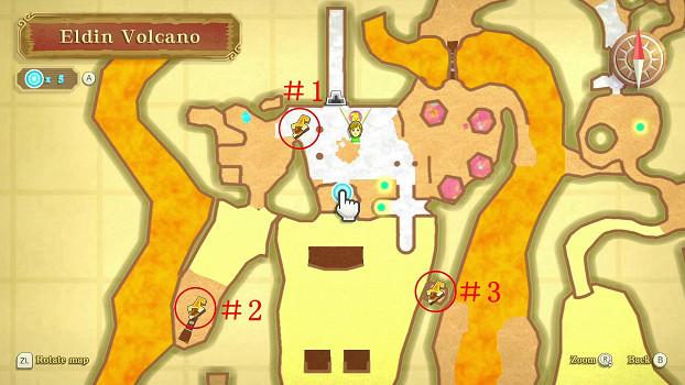 《薩爾達傳說 禦天之劍 HD》鑰匙碎片分佈位置