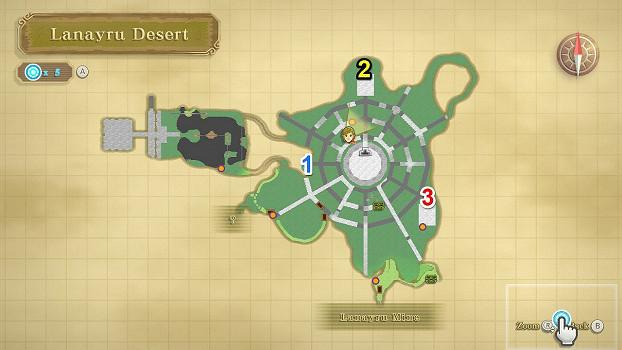 《薩爾達傳說 禦天之劍 HD》拉奈魯沙漠密匙位置