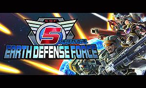 """地球防衛軍5-Earth Defense Force 5-《地球防衛軍5(Earth Defense Force 5)》是由Sandlot製作、D3 Publisher發行的第三人稱射擊遊戲,是《地球防衛軍》系列正統續作,上作為《地球防衛軍4.1:絕望陰影再襲》。遊戲講述了2017年,從太陽系外飛來了宇宙船團。人類第一次和外星生命體接觸了。但是回應人類的是他們激烈的攻擊。EDF稱個外星生命體為""""昆蟲""""。然後反擊開始了。本作的故事背景延續系列特色,人類繼續..."""