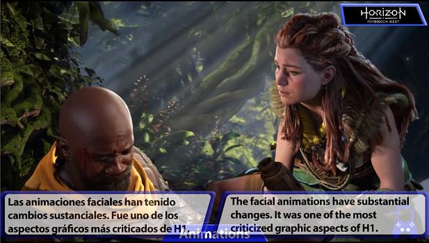 《地平線:西部禁域》前作對比影片 新作細節大提升