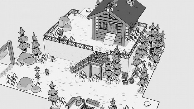 黑白手繪風遊戲《TOEM》今日發售 首發特惠促銷