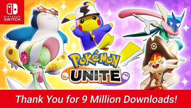 Switch免費MOBA《寶可夢:大集結》下載超900萬
