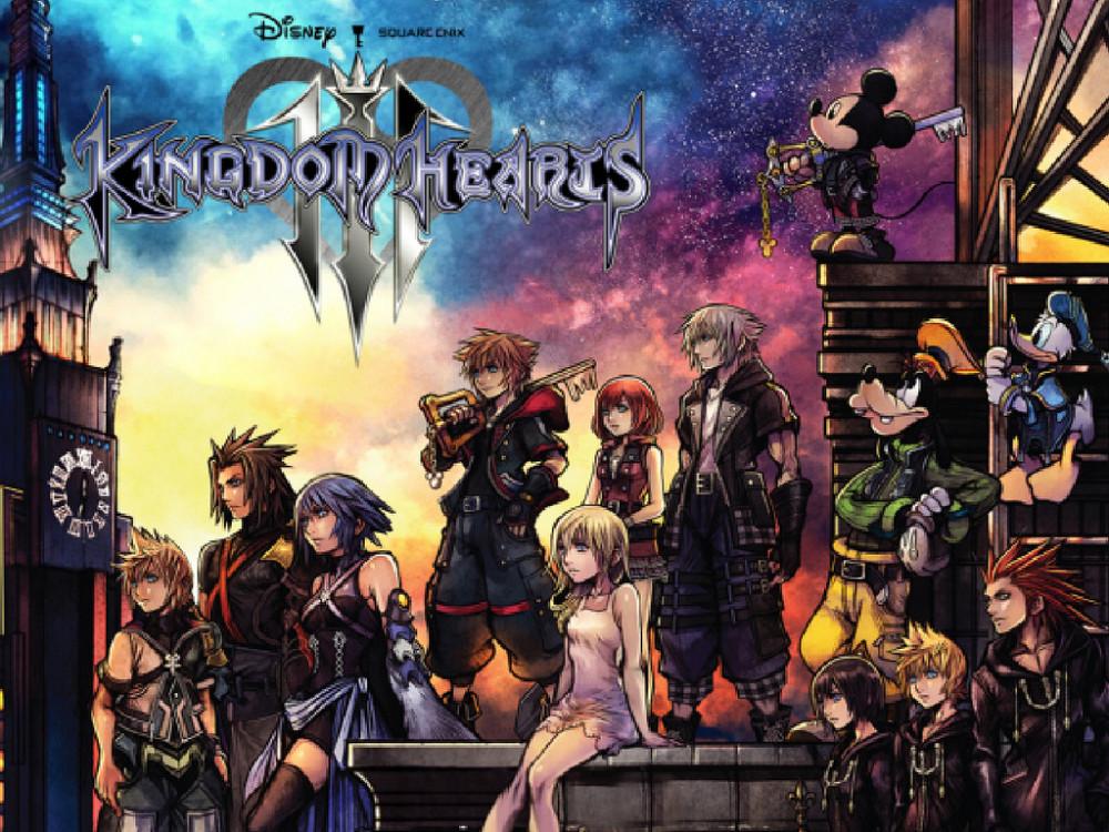 """王國之心3-Kingdom Hearts III-《王國之心3 (Kingdom Hearts III)》是由Square Enix製作發行的一款動作RPG遊戲,是經典系列《王國之心》的最新續作。遊戲採用虛幻4引擎進行製作,故事將繼續沿續《王國之心3D》的故事,該遊戲的世界背景選擇的是前作中提到的""""Dark Seeker""""的最後篇章,故事將描述與Xehanort的決戰。另外,遊戲擁有第三人稱視角,但NPC和其他角色加入戰鬥..."""